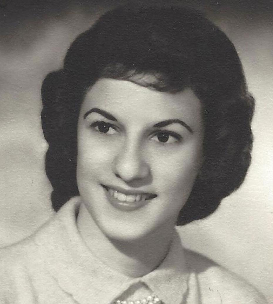 My sister Elisa at age 17